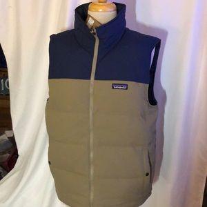 Reversible Bivy down vest by Patagonia. Medium